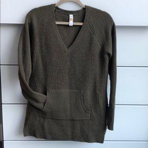 Hunter green Lole sweater